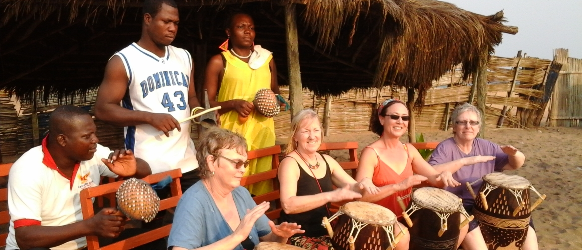 Drumming in Africa